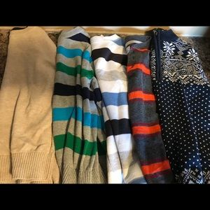 Other - Set of 5 Boys long sleeve sweaters